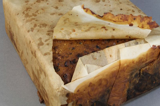 100-year-old Fruit Cake Among Artifacts from Cape Adare