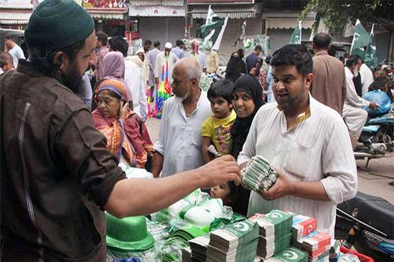 Karachittes spent Rs15 billion on 70th Independence Day: report