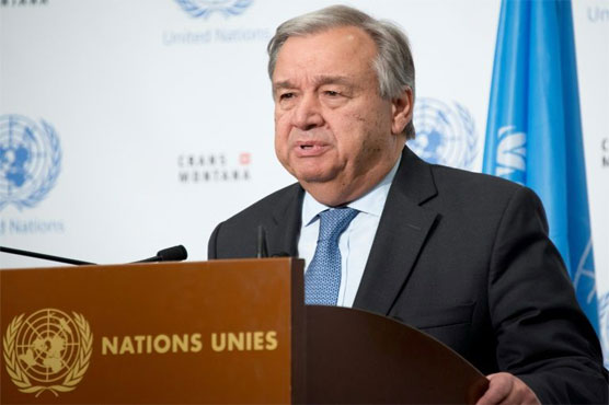 UN chief urges turn down rhetoric on Korea