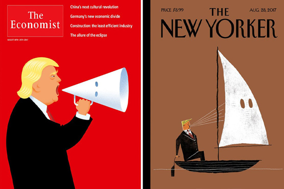 Top Magazines Take on Trump and Hate in Upcoming Covers