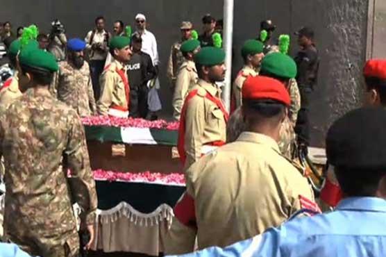 State funeral for Dr Ruth Pfau underway in Karachi
