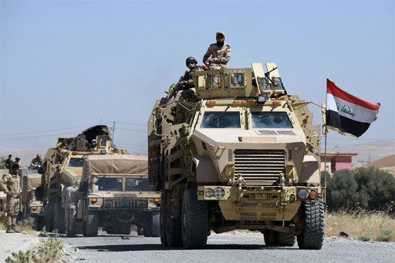 Led Iraqi forces launch battle for Tal Afar