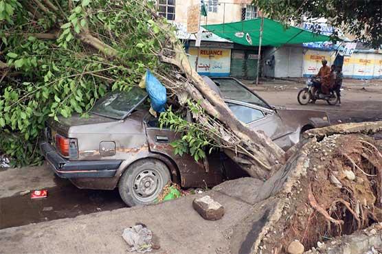 12 dead as rain bereaves Karachi again