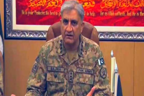 No safe havens for terrorists in Pakistan: General Bajwa