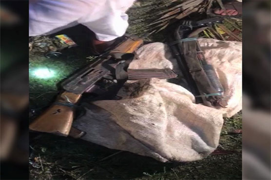 Karachi: CTD recovers huge cache of arms
