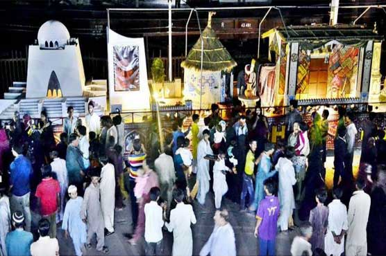 Special Azadi Train reaches Karachi