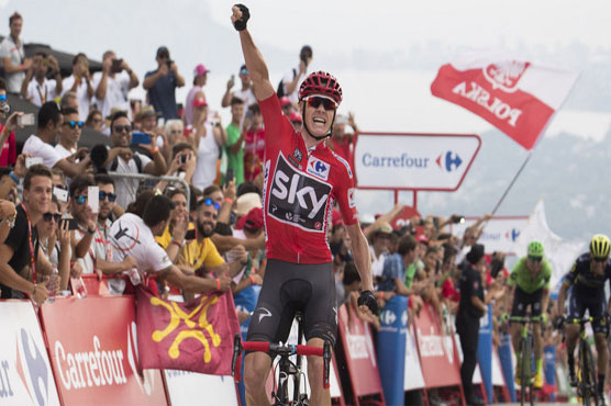 Chaves bravely battles Froome atop Cumbre del Sol at La Vuelta