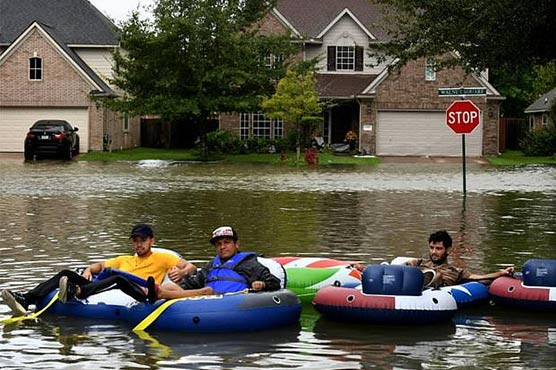 Hurricane Harvey back ashore, hits Louisiana