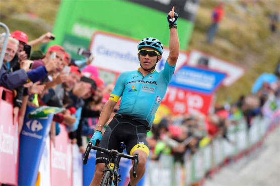 Froome extends Vuelta lead, Lopez wins Stage 11