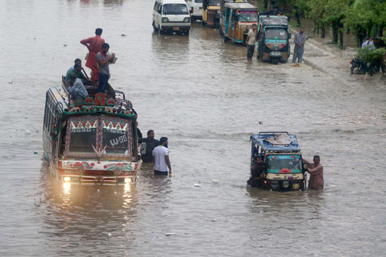 Rain in Karachi claims at least 14 lives in different incidents