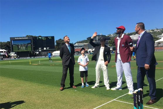 New Zealand win toss and bowl against West Indies