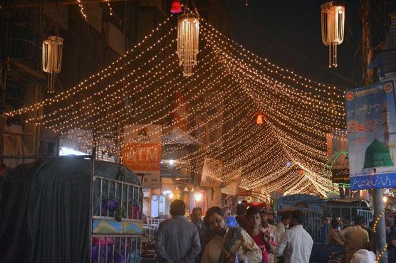 Eid-e-Milad: Processions, prayers mark birth anniversary of Prophet Mohammed