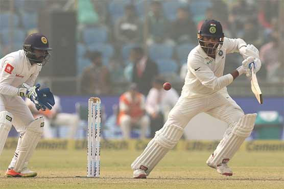 Vijay leads India run race as Perera claims 100th Test scalp