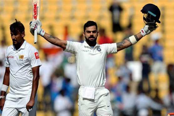 Kohli passes landmark 5,000 Test runs as India increase Sri Lanka's agony
