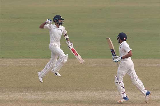 Kohli double ton powers India to 500-5 in third Test