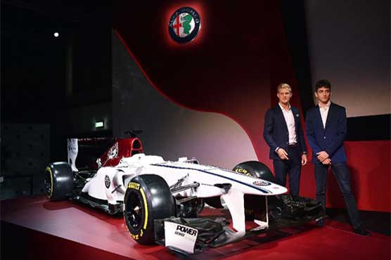 Sauber confirm Leclerc & Ericsson, as Alfa Romeo livery revealed""