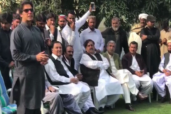 Imran says Nawaz's ideology is corruption