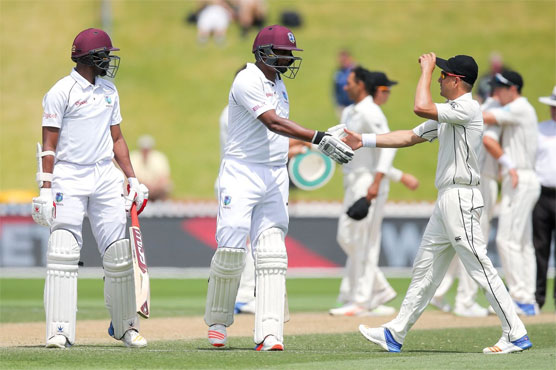 Windies collapse hands New Zealand innings victory