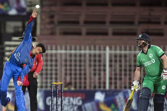 Teenage debutant Mujeeb helps Afghanistan rout Ireland