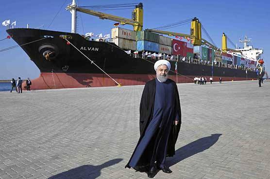 Iran inaugurates $1bn Chabahar Port extension