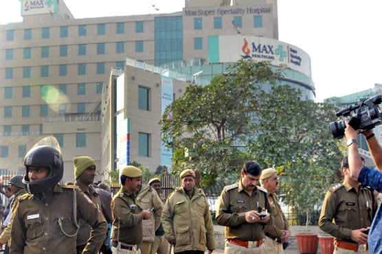 Delhi's private hospital wrongly declared a new born dead has died in another hospital