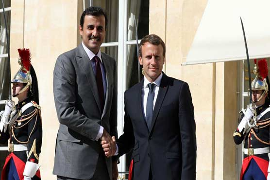 Qatar signs €12B-worth of deals with France