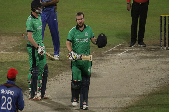 Stirling, Dockrell star as Ireland win Afghanistan series