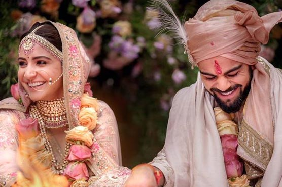 It's Official! Virat and Anushka are married and their pictures are heavenly