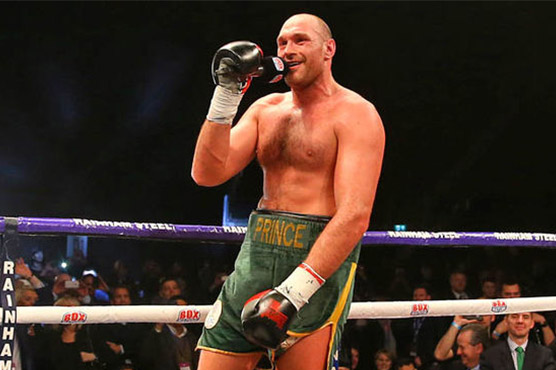 Team Hammer Smile at UKAD Ruling To Reverse Tyson Fury Loss