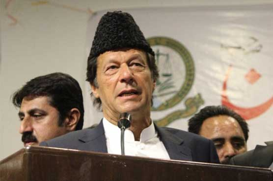 Imran disappointed at Tareen's disqualification, calls him