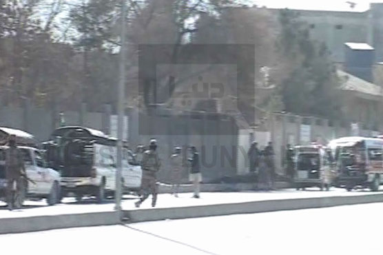 CCTV footage shows terrorists entering Quetta's church premises