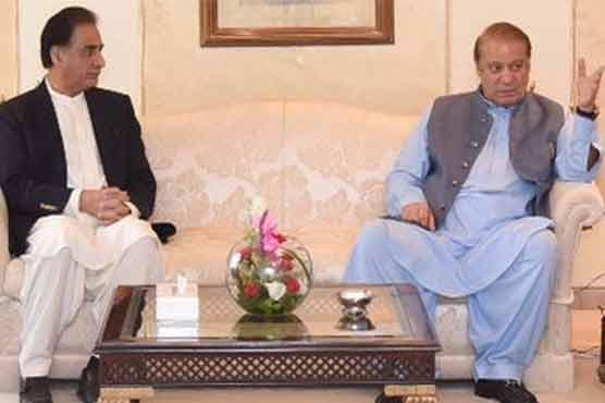 Nawaz returns to Lahore after announcing movement for rule of law
