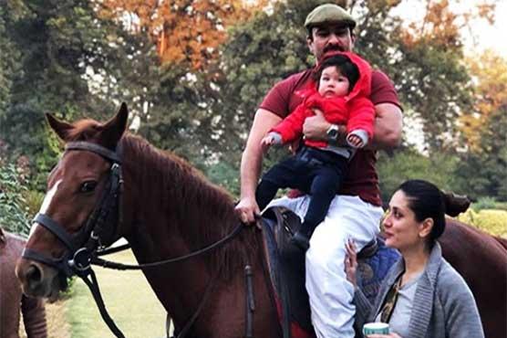 Saifeena celebrate first birthday of Baby nawab Taimur
