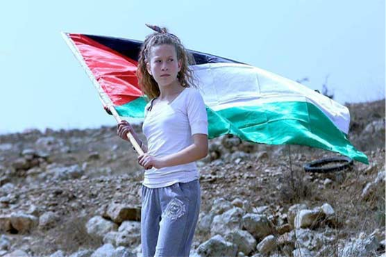 Ahed Tamimi 17 was arrested along with her mother
