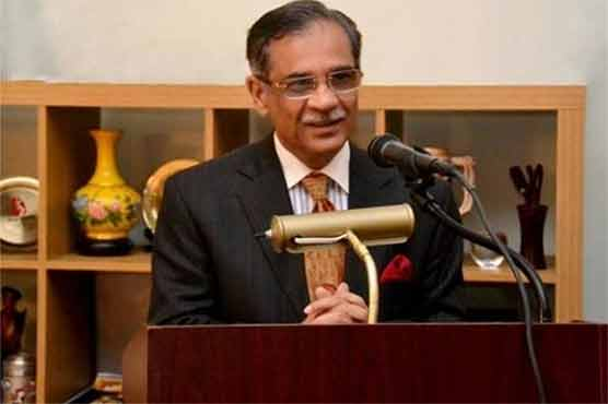 CJP Saqib vows to resolve contaminated water issue before elections