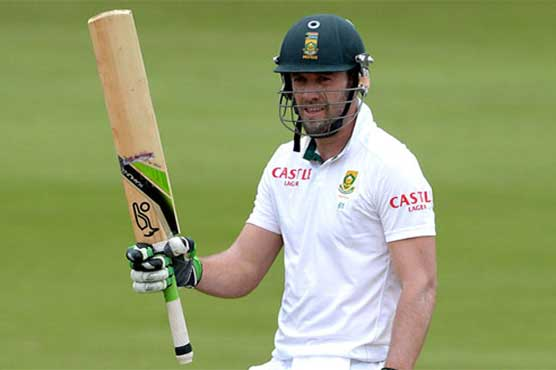 Du Plessis ruled out of Zimbabwe Test, de Villiers to lead