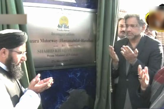 PM inaugurates Burhan-Shah Maqsood section of Hazara Motorway