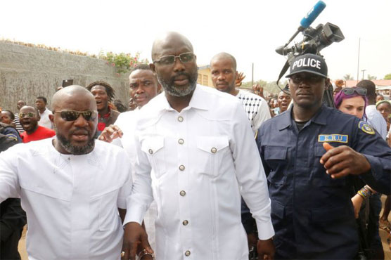 George Weah wins Liberia presidential election