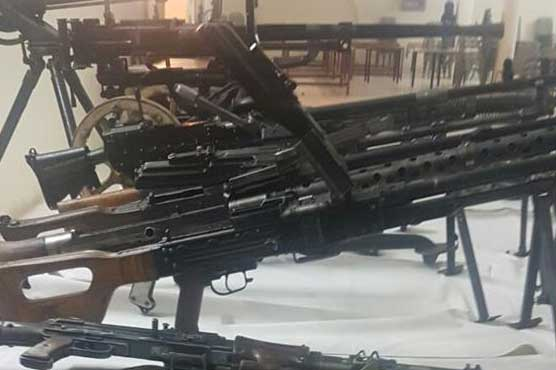 Suspected NDS facilitator arrested, heavy weapons seized in Balochistan IBOs
