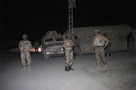 Dera Bugti: 4 terrorists killed in FC, security forces' operation