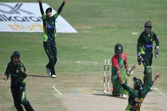 Pakistan beat Australia to pick up ninth consecutive win