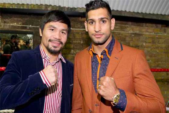 Pacquiao vs Khan for April 23 per fighters' Twitter accounts