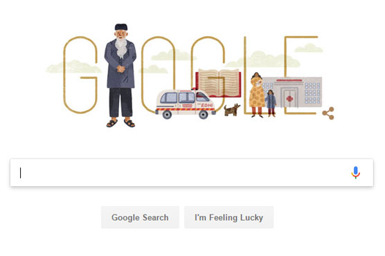 Google pays tribute to 'Angel of Mercy' Abdul Sattar Edhi on birthday