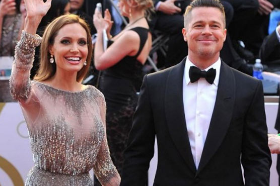 PICTURES: How Angelina & Brad celebrated this New Year