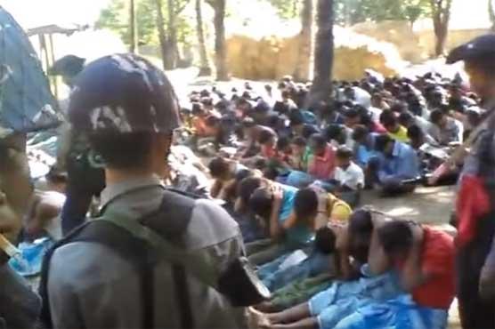 Policeman accused of brutalising Rohingya Muslims arrested - World