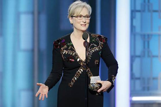 Meryl Streep bashes Trump at Golden Globes
