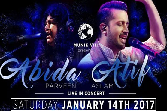 Abida Parveen Atif Aslam To Perform Live In Karachi