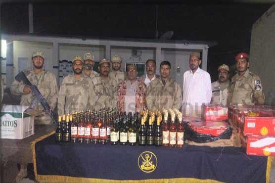 Balochistan: Smuggled diesel, liquor seized, seven nabbed