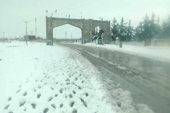 Heavy snowfall continues in parts of Balochistan, emergency declared