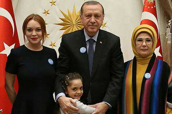 Lindsay Lohan meets Erdogan, Syrian blogger girl Bana